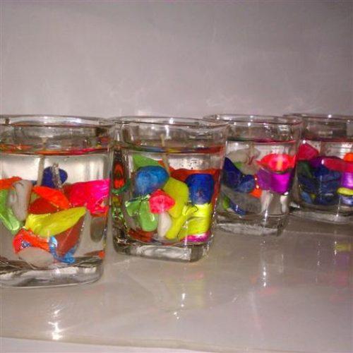 تولید انواع شمعهای ژله ای مخصوص حراجی