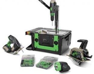 مجموعه میز و ابزار کارگاهی قابل حمل سل مدل WQ1