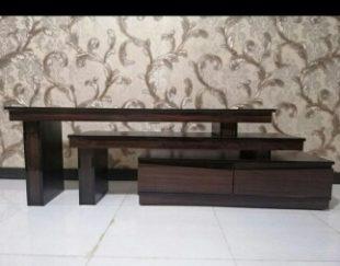 میز تلوزیون سه تکه با قابلیت تغییر مدل