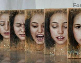 تابلوی چهره  نقاشی