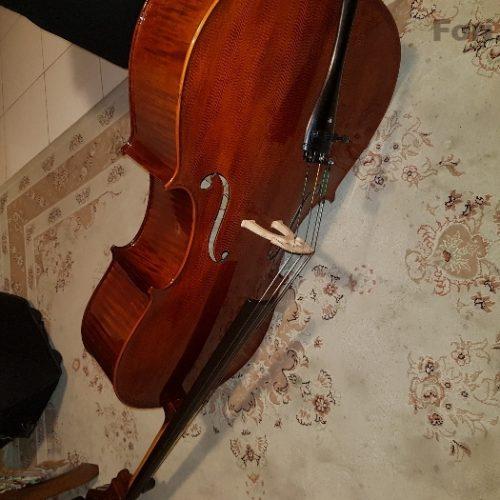 ویلنسل چهار چهارم نیمه دست ساز به همراه تمام وسایل تکمیلی