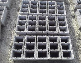 بلوک های ساختمانی سه جداره ته بست