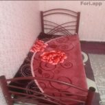 تخت فلزی یک نفره بدون تشک