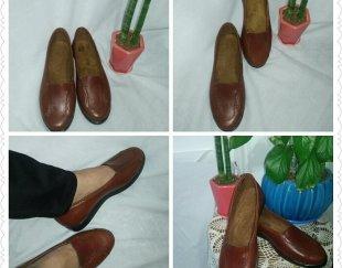 کفش چرم طبیعی صنعت دست