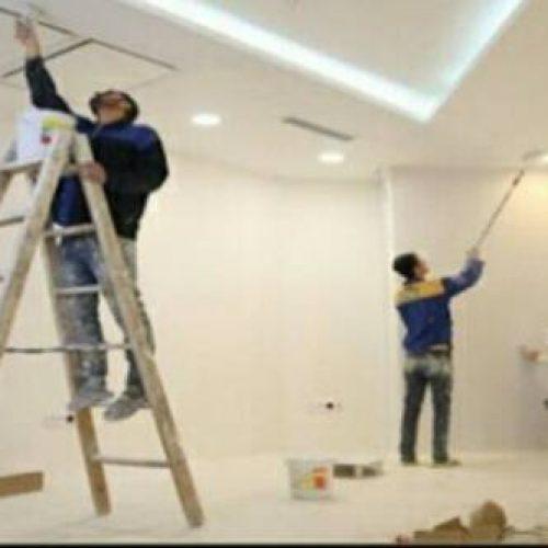 نقاشی تخصصی ساختمان درب پنجره و…