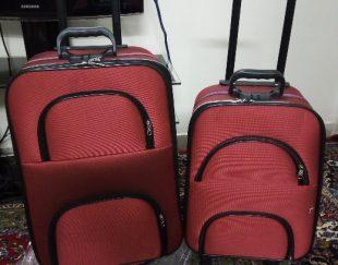 چمدان مسافرتی فریم آهنی مقاوم و بادوام