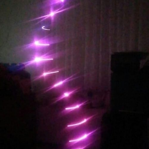 رقص نور گردبادی