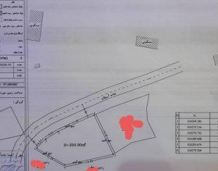 فروش دو قطعه زمین روستایی واقع در طرح هادی