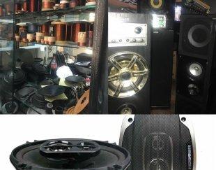 تعمیر پخش ضبط اسپیکر باند ساب میدرنج تیوتر آمپلی