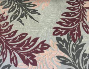 فرش فانتزی گل برجسته