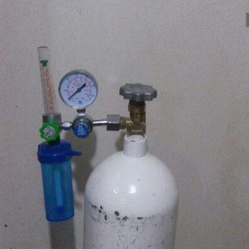 کپسول اکسیژن ۲۰کیلویی به همراه مانومتر