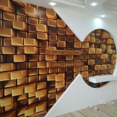 کاغذ دیواری های متنوع و سه بعدی