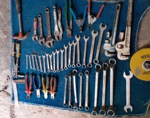 فروش مقداری ابزار آلات جنس خوب دست دوم