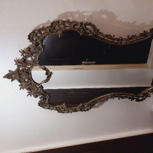 آینه کنسول برنجی