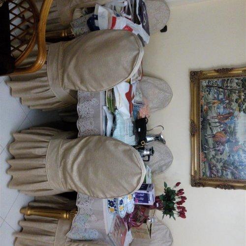 مبلمان و میز ناهارخوری استیل سلطنتی