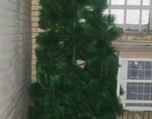 یک عدد تابلو و یک جا گلدانی و یک درخت کریسمس