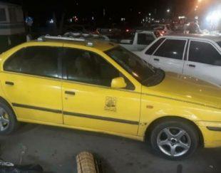 تاکسی گردشگری اسلامشهر مدل خودرو۸۷ دوگانه سوزCNG