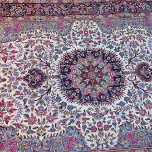 جفت فرش دستباف ۶ متری