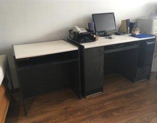 میز کامپیوتر و تحریر دو تکه مجزا