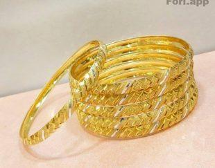 فروش النگو نقره آبکاری طلا