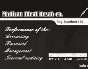 ارائه خدمات حسابداری-حسابرسی-مالیاتی