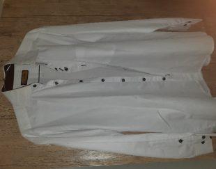 پراهن سفید مجلسی سایز L