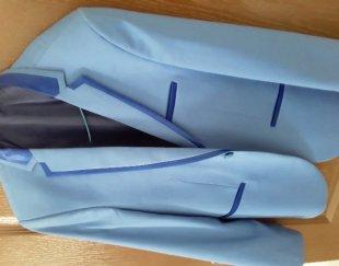 کت و شلوار آبی روشن