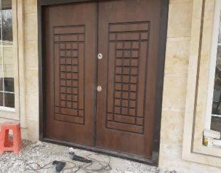 درب چوب ،ملامینه، و،ضدسرقت