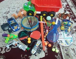 تعدادی اسباب بازی