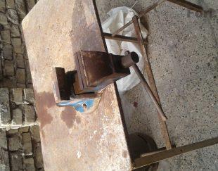 گیره رومیزی همراه بامیز آهنی