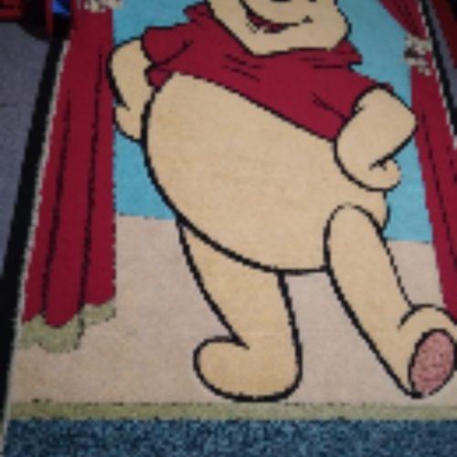 فرش بچگانه طرح پو