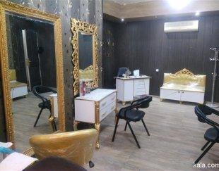 اجاره میز کار، اتاق، تخت در سالن زیبایی