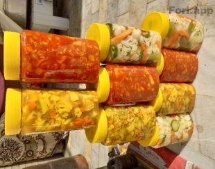 ترشیجات و سبزیجات خانگی با بهترین کیفیت و مناسبترین قیمت