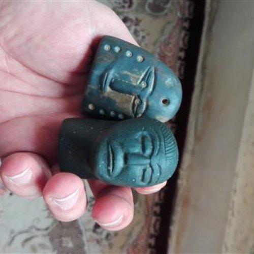 مهرو نشان یشم باستانی