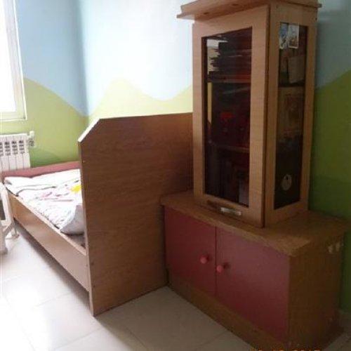 سرویس تخت و کمد کودک (با قابلیت نوجوان)