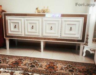 کنسول و میز تلویزیون طرح آینه انتیک