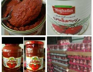 رب گوجه فرنگی اعلاء «عمده» ارسال از کارخانه ب سراسرکشور