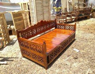 تخت سنتی چوب روس