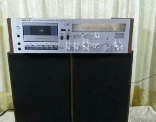 استریو امپلی کاست و  رادیو و دوتا باند سونی ژاپن