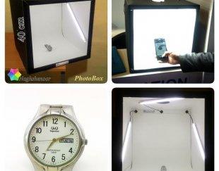 فتوباکس ( خیمه نور ، خیمه عکاسی ، اتاق نور )