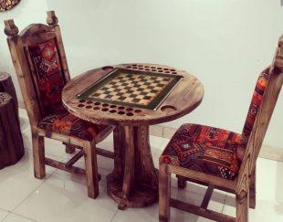 میز بازی تخته نرد و شطرنج