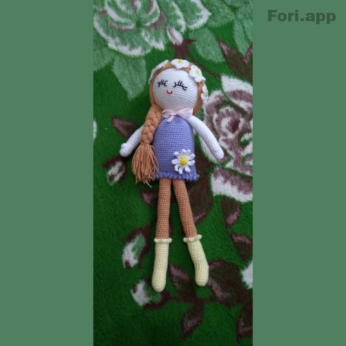 فروش عروسکهای دست بافت