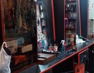 ویترین کامل آرایشگاه