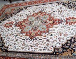 فرش ماشینی نقشه دستباف