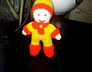 عروسک دست بافت