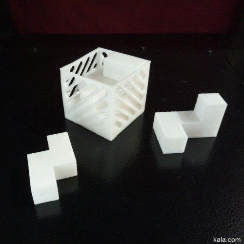 پازل سه بعدی
