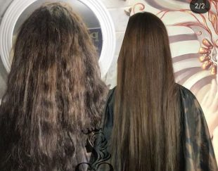 ازشر موهای خشک و فر خود خلاص شوید