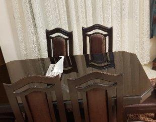 میز و صندلی ۶ نفره در حد نو