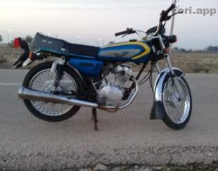 موتور سیکلت ۱۲۵ مدل ۹۵