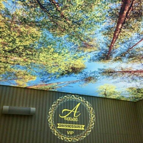 سقف کشسان -اسمان مجازی